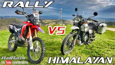 CRF 250 Rally vs Royal Enfield Himalayan