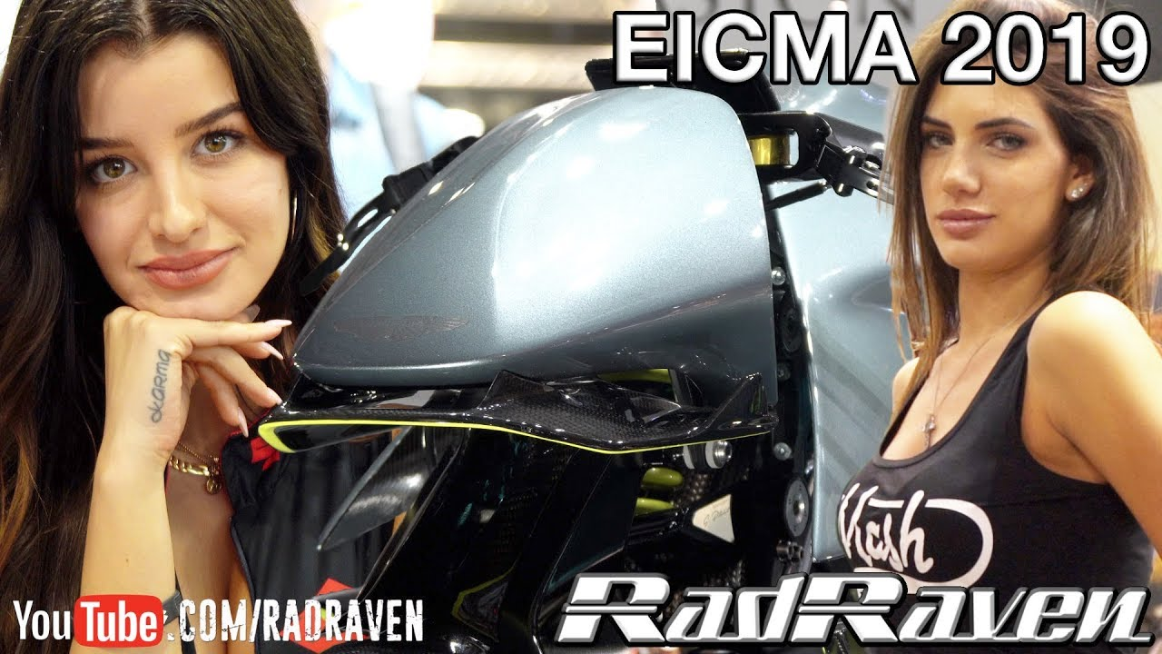EICMA 2019 – Bike Porn & the EICMA Girls