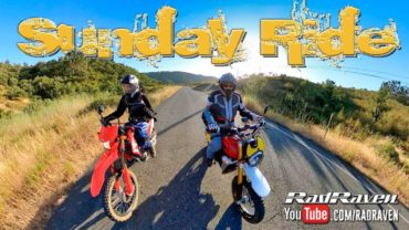 Sunday Ride on the Caballero 500 Rally and CRF 250L